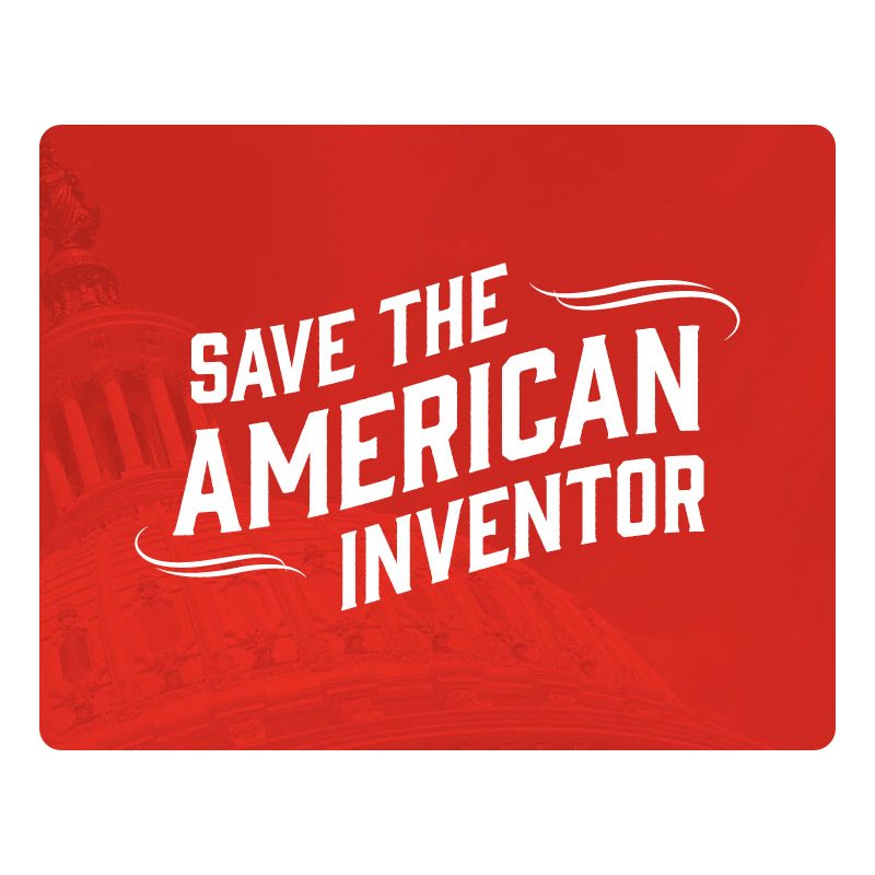 Save The American Inventor Logo