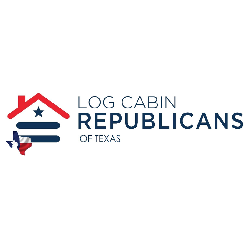 Texas Log Cabin Republicans Logo
